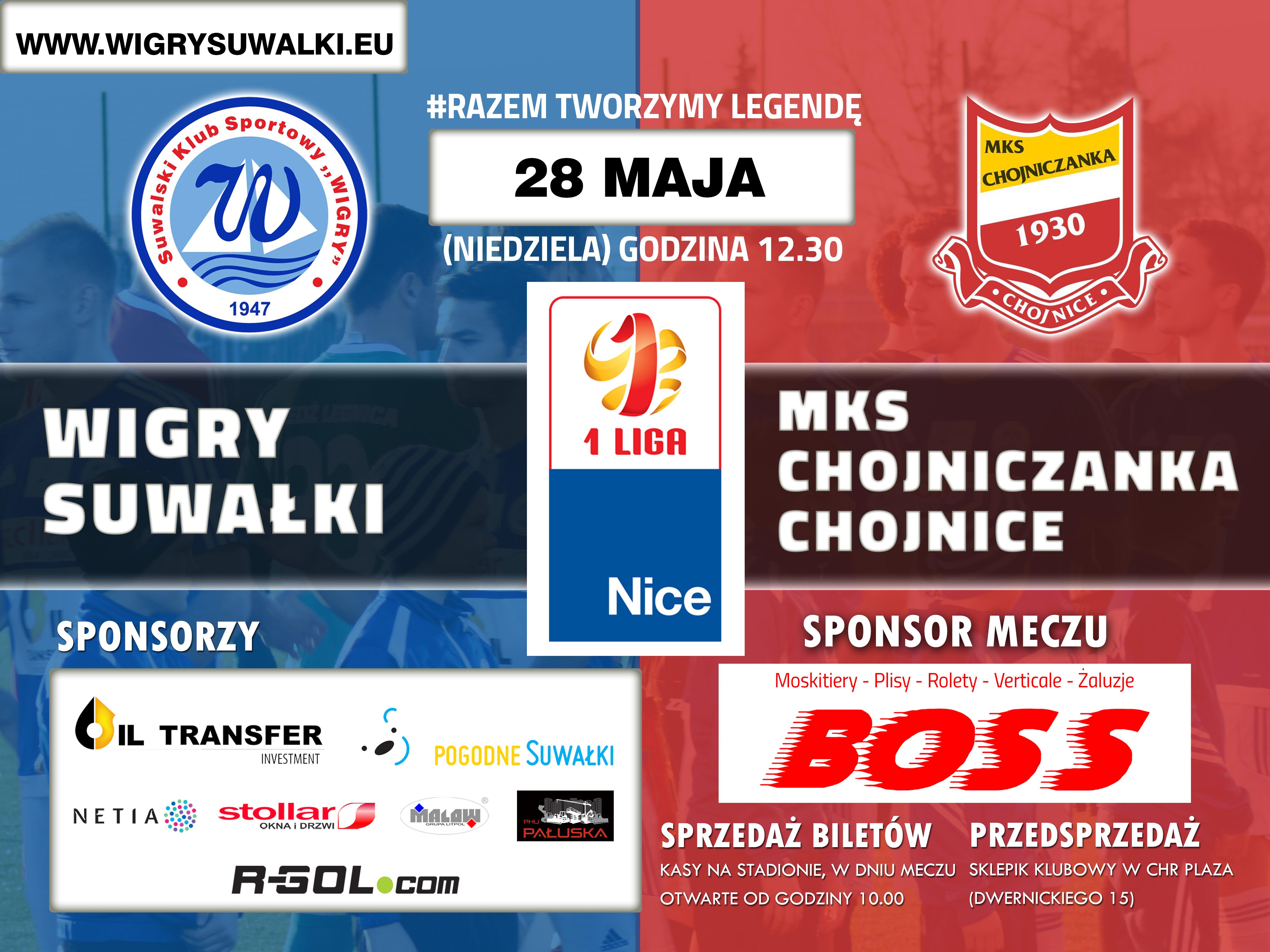 SKS Wigry Suwałki-Chojniczanka Chojnice