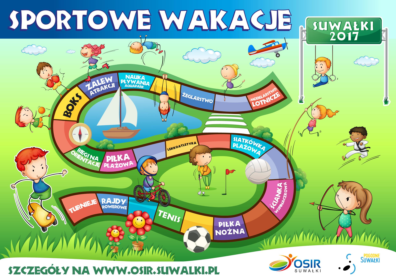 Sportowe wakacje w Suwałkach
