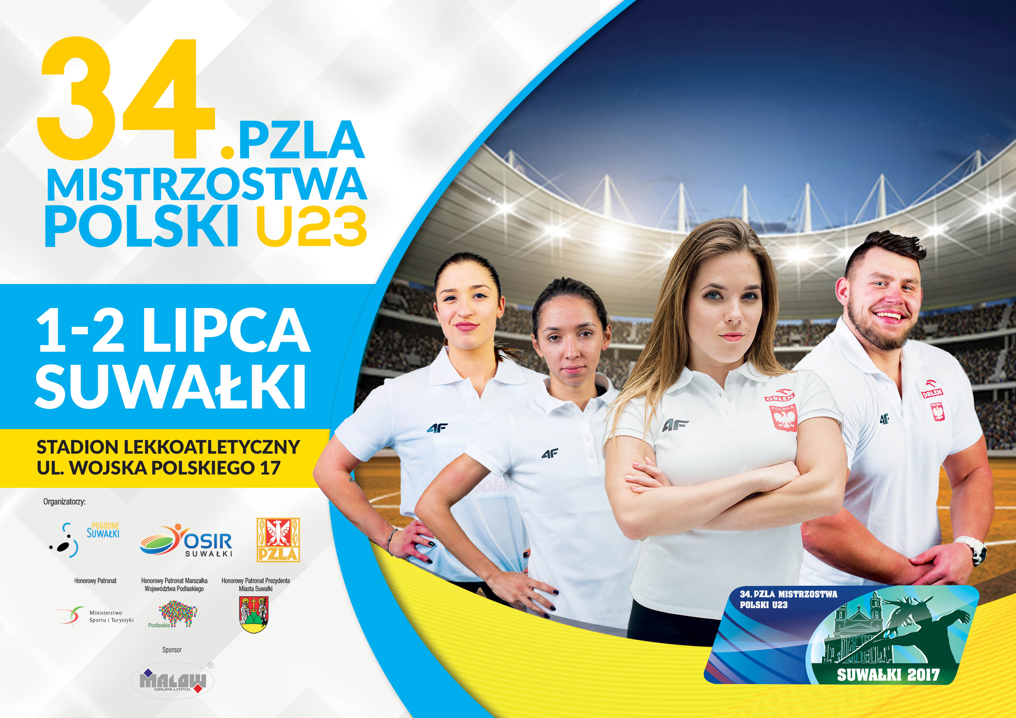 34. PZLA Mistrzostwa Polski U23
