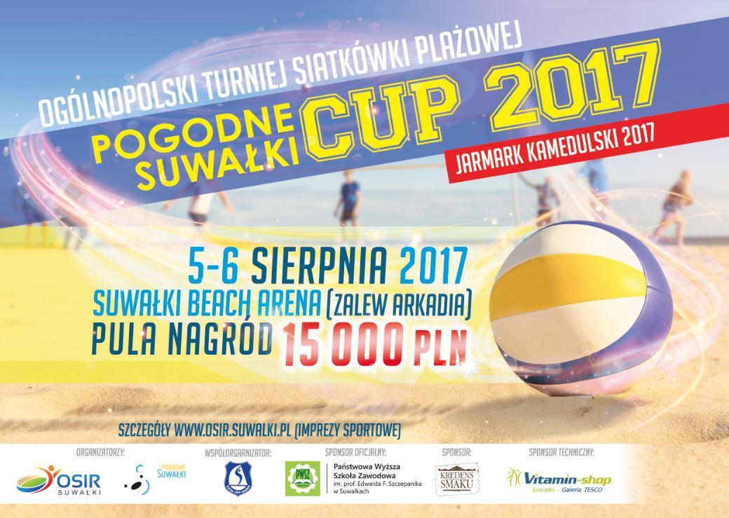 Pogodne Suwałki Cup 2017. W puli15.000 złotych!
