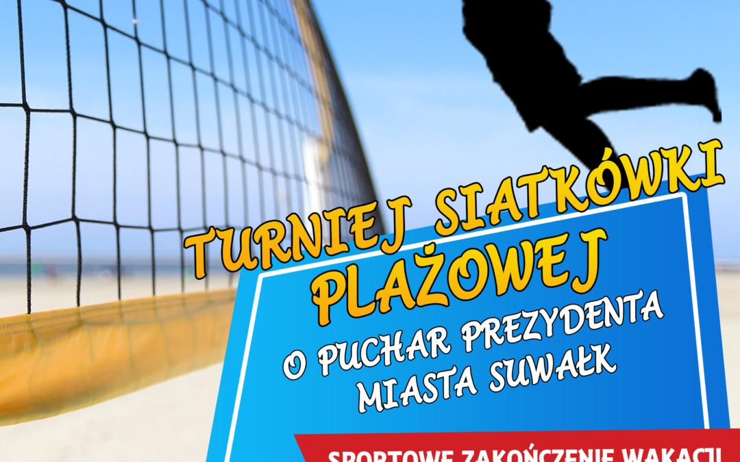 Turniej siatkówki plażowej na zakończenie wakacji. W puli 6 tys. PLN!