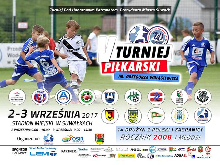 V Turniej Piłkarski im. Grzegorza Wołągiewicza