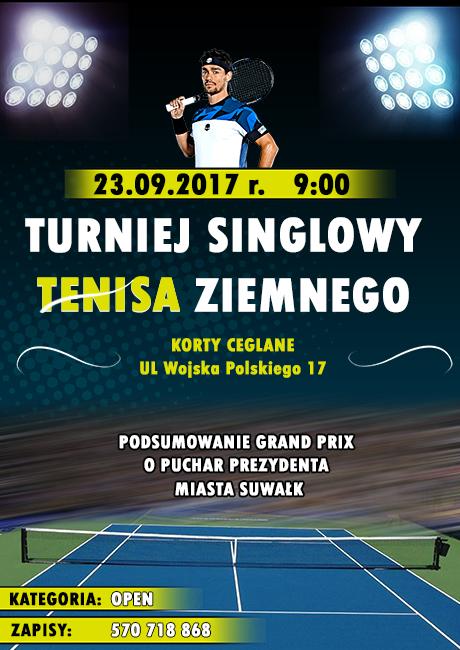 Singlowy Turniej Tenisowy na zakończenie lata –