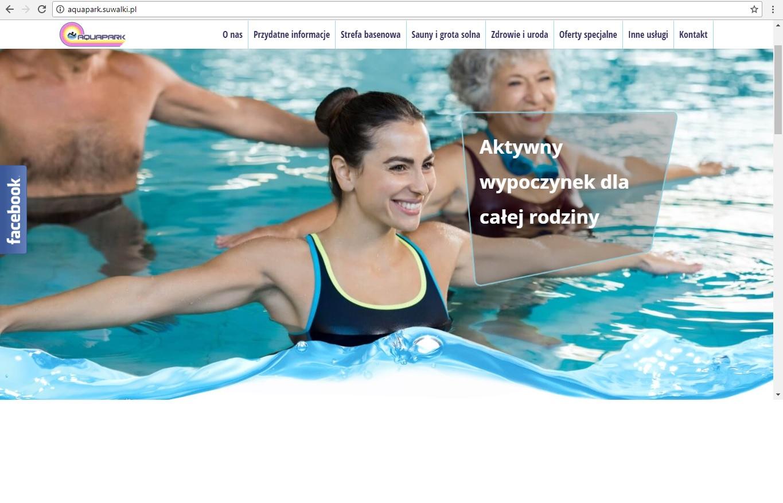 Strona internetowa Aquaparku w nowej odsłonie!