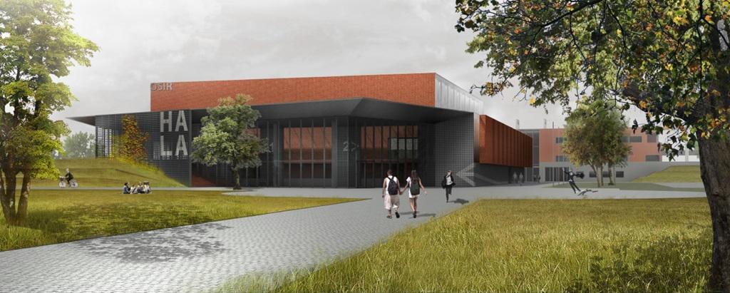 Rozpoczęła się budowa hali sportowej Suwałki Arena