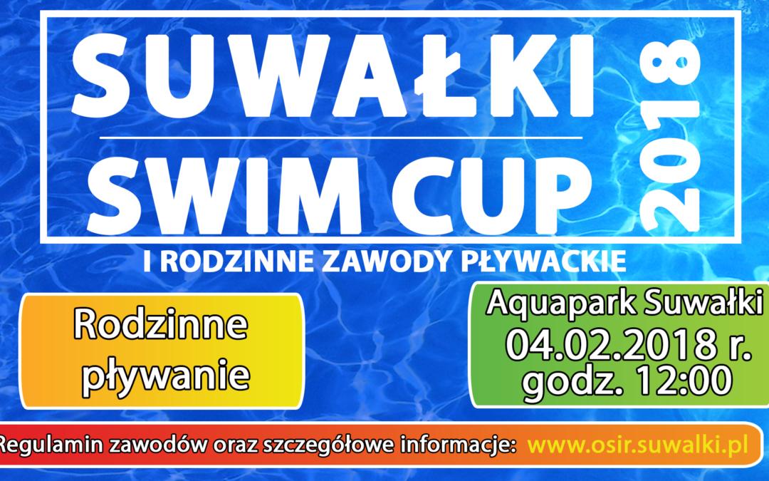 Rodzinne pływanie czyli Suwałki Swim Cup 2018