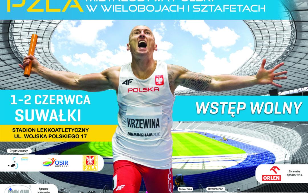 Lekkoatleci, biegacze, żeglarze. Sportowy weekend w Pogodnych Suwałkach.