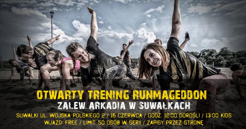 Otwarty trening Runmageddon w Suwałkach