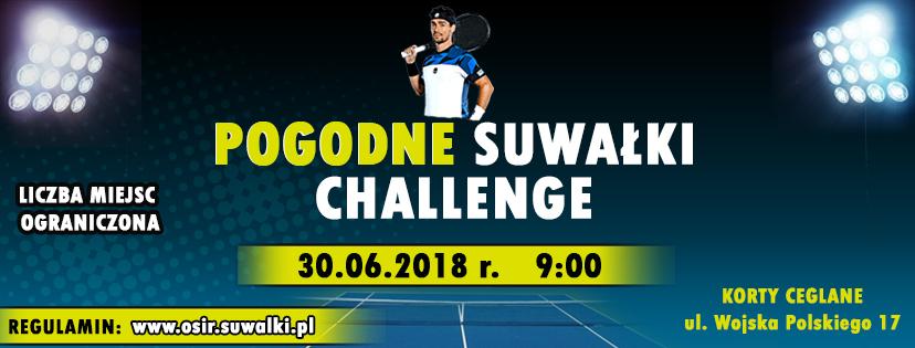 Pogodne Suwałki Challenge -turniej singlowy tenisa ziemnego