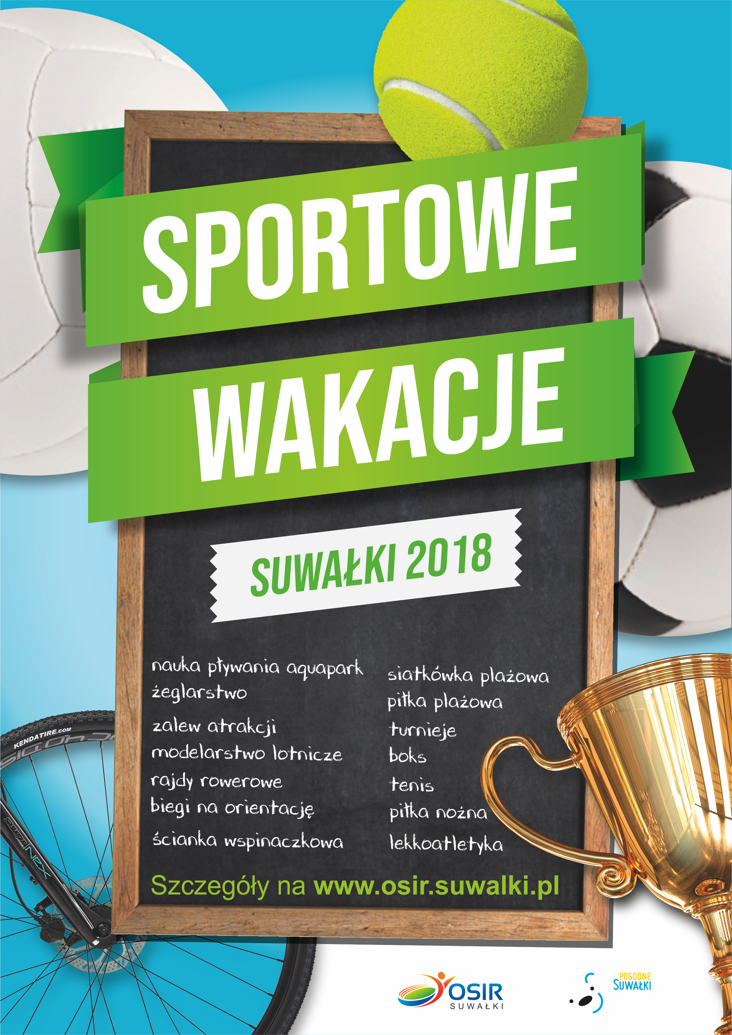 Sportowe wakacje z OSiR Suwałki!