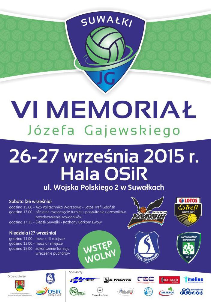 Plakat Memorial 2015